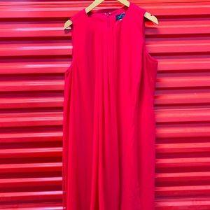 Tahari Red Dress 14